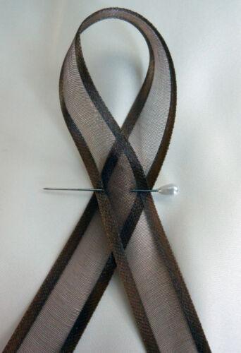 Double Sided Organza/Chiffon Ribbon with Satin Edge  10/15/25/38mm Free Post