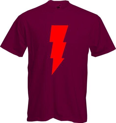SHAZAM Sheldon Cooper *NEW* Big Bang Theory Quality T Shirt