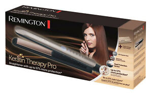 REMINGTON-KERATIN-PRO-THERAPY-HAIR-STRAIGHTENER-S8590-BRAND-NEW-amp-SEALED