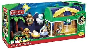 NEW-Fisher-Price-Little-People-On-the-Go-Nativity-Set-Gift-Christmas