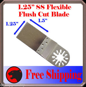 SS-Oscillating-Multi-Tool-Saw-Blade-For-Fein-Multimaster-Bosch-Dremel-Craftsman