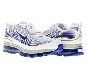 Nike Air Max 2006 Leather White/Old Royal-Silver Mens