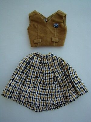 """Remco Judy Littlechap 13"""" Doll Sportswear Skirt Jerkin"""