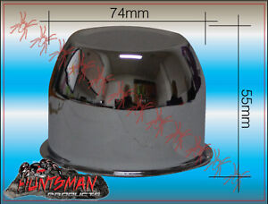 CHROME-WHEEL-CAP-74MM-CENTER-TO-SUIT-TRAILER-CAMPER-HT-STEEL-WHEELS-EARLY-HOLDEN