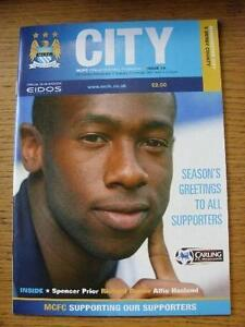 26122000 Manchester City v Derby County  Team Changes Item In very good con - <span itemprop=availableAtOrFrom>Birmingham, United Kingdom</span> - Returns accepted within 30 days after the item is delivered, if goods not as described. Buyer assumes responibilty for return proof of postage and costs. Most purchases from business s - Birmingham, United Kingdom