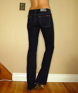 159-Seven-7-For-All-Mankind-Skinny-Bootcut-Sexy-Stretchy-Gummy-Jeans-Dark-24-28
