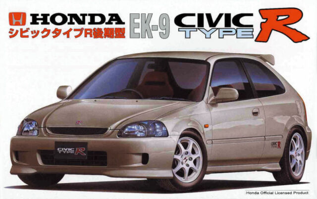 Fujimi ID-88 Honda Civic Type R EK9 1/24 scale kit