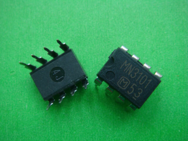 2 PCS MN3101 MN 3101 NEW IC Chip BBD DIP 8 Pin