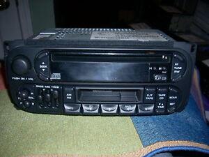 1998 2002 chrysler dodge jeep cd radio raz new caravan. Black Bedroom Furniture Sets. Home Design Ideas