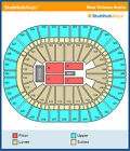Red Hot Chili Peppers Tickets 10/04/12 (New Orleans)