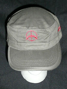 U2-360-TOUR-SOUVENIR-COLLECTIBLE-MILITARY-ARMY-GREEN-CAP-HAT-MENS-WOMENS-gt-NEW-lt