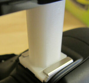 Zoom-DSLR-Hot-Shoe-Mount-1-4-034-adapter-riser-for-Zoom-H1-amp-H4n-Alt-HS-1-HS1-ZHS1