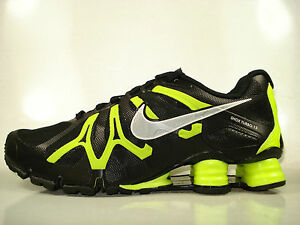 Nike Shox Turbo 13 Black Metallic Silver