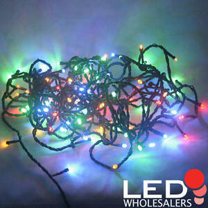 Christmas-Xmas-100-LED-Garden-Party-String-Light-Colorful-Red-Blue-Green