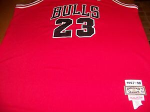 efebim Michael Jordan Chicago Bulls 1997-98 Hardwood Classic #23 Jersey