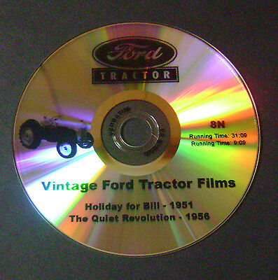 """New DVD """"A Holiday for Bill"""" for FORD 8N Tractor (2N, 9N)"""