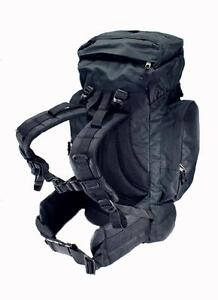 Black-SWAT-Large-45L-Rio-Grande-Hiking-Tactical-Military-Backpack-Camping
