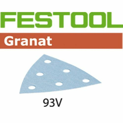 FESTOOL Schleifblätter Granat STF V93//6 StickFix VOC Lacke Spachtel Füller