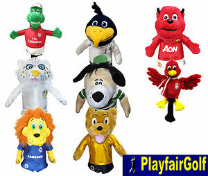 New-Premier-League-Football-Club-Mascot-Golf-Driver-Head-Cover