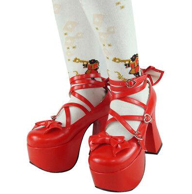 Lolita tea party badydoll shoes 9803--12cm heel height many colors custom made