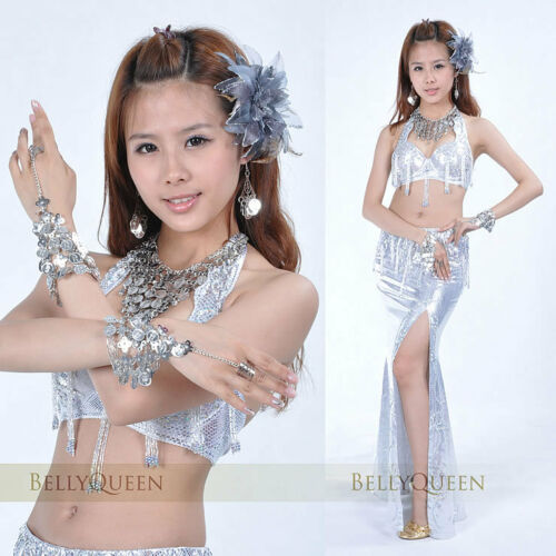 New Beautiful Belly Dance Costume Accessories Necklace Bracelets And Earrings