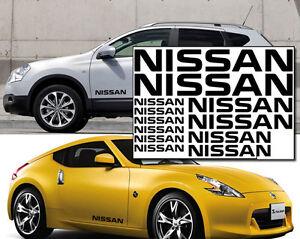 Set-of-12-x-NISSAN-Vinyl-Decals-for-Car-Alloy-Wheels-Quashquai-Navara-Note