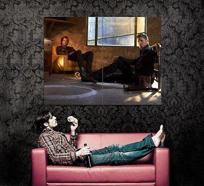 XD7583 Supernatural Sam Dean Winchester Ackles Padalecki TV HUGE Wall POSTER