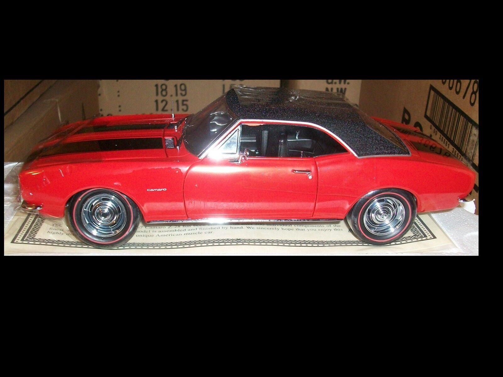 1967 Chevrolet Camaro Z28 Regal rouge 1 18 ertl american muscle 33272
