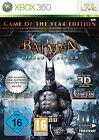 Batman: Arkham Asylum -- Game of the Year Edition (Microsoft Xbox 360, 2010, DVD-Box)