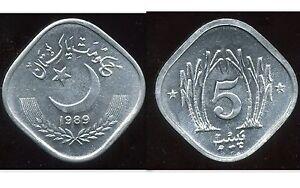 PAKISTAN-5-paisa-1989