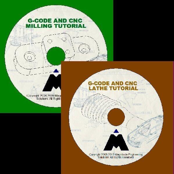 G-CODE CNC MACHINING MILLING AND LATHE SIMULATOR TRAINING CAD MASTERCAM GCODE