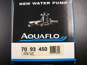 NIB-New-Water-Pump-USA-70-93-450-Celebrity-Lumina-Cutlass-Cierra-6000-Century