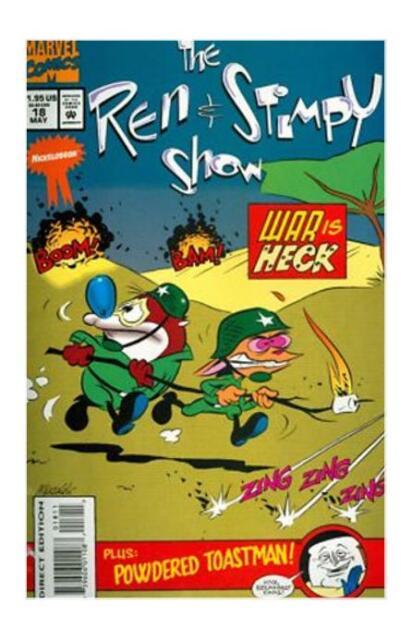 The Ren & Stimpy Show Vol 1 No 18 (May 1994, Marvel) EX Cond