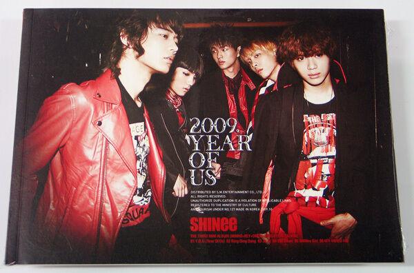 SHINee - 2009, Year Of Us (3rd Mini Album) CD+Photo Booklet+Gift Photocard K-POP