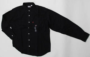 Levis-Classic-Denim-Shirts-81000-Black-Small