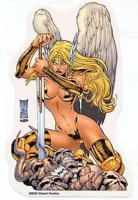 SEXY Chaos Comics Bad Girl VANDALA Valkyrie VIKING  BIKINI Sticker/Vinyl Decal