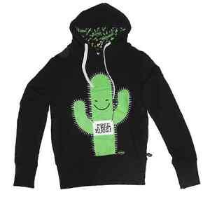 Newbreed-Girl-Free-Hugs-Cactus-Hoodie-Ladies-Hoody-Emo-Kawaii-Pullover-N1-002