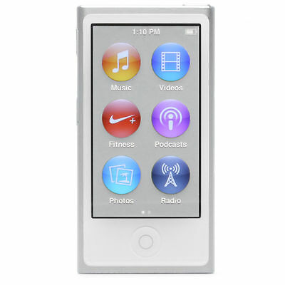 New Apple iPod nano 7th Generation Silver (16 GB) (Latest Model)