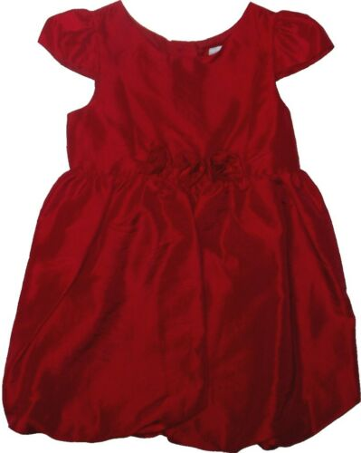 DRESS HOLIDAY DARK RED BUBBLE STYLE 18 24 months CHRISTMAS LITTLE TODDLER GIRLS