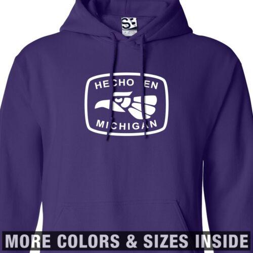 Hecho En Michigan HOODIE Hooded Made in Imported from Detroit Sweatshirt