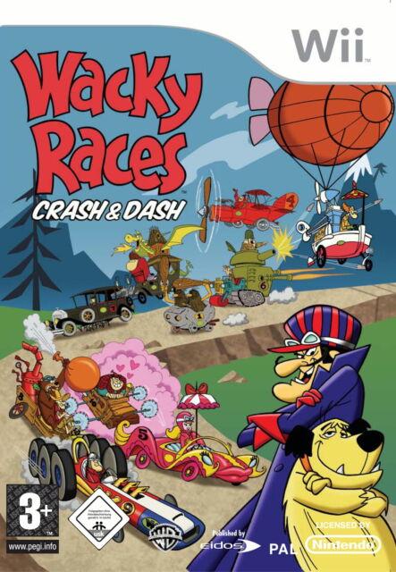 Wacky Races: Crash & Dash (Nintendo Wii, 2008, DVD-Box) - European Version