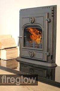 Fireglow Quot Inset 450 Quot Multifuel Wood Burning Cast Iron