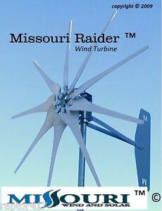 Missouri-Raider-1600-Watt-Wind-Turbine-Generator-12volt-9-blade-3-phase-output