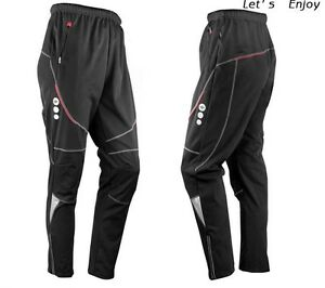 New-Men-039-Thermal-Winter-Cycling-Waterproof-Pants-Bike-Bicycle-Windproof-Trousers