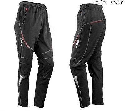 New Men' Thermal Winter Cycling Waterproof Pants Bike/Bicycle Windproof Trousers