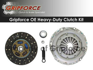 GRIPFORCE-CLUTCH-KIT-1969-1972-CHEVROLET-CAPRICE-5-7L-350cu-in-11-034-X26T-DISC