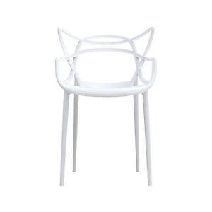 stuhl masters philippe starck kartell weiss neu ebay. Black Bedroom Furniture Sets. Home Design Ideas