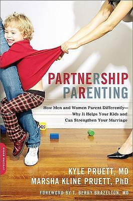 Partnership Parenting: How Men and Women Parent Differently--Why It-ExLibrary