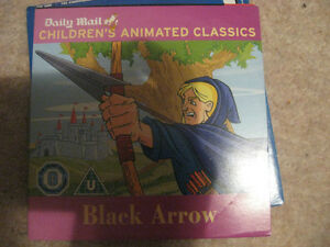 NEW BLACK ARROW DVD  CHILDRENS ANIMATED CLASSICS  DAILY MAIL - Somerset, United Kingdom - NEW BLACK ARROW DVD  CHILDRENS ANIMATED CLASSICS  DAILY MAIL - Somerset, United Kingdom