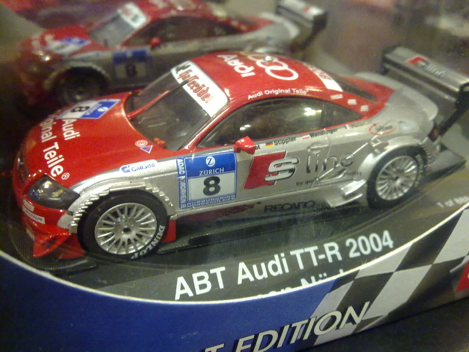 Schuco Abt Audi TT-R DTM 2004 1 43 h Nürburgring